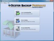 Ocster Backup: Freeware Windows Edition