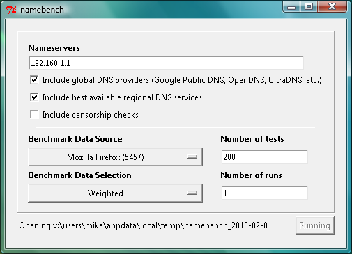namebench 1.3.1 windows exe