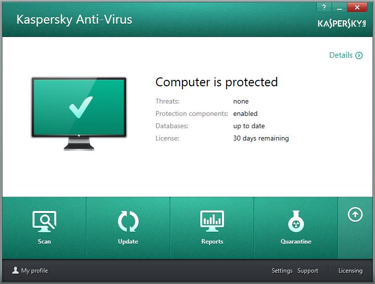 تحميل برنامج كاسبر سكاى اخر إصدار 2014 14.0.0.4651 Kaspersky Anti-Virus 2014