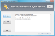 Windows Product Keyfinder PRO 2.3