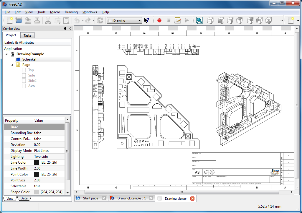 Freecad free download software reviews for Online cad drawing software