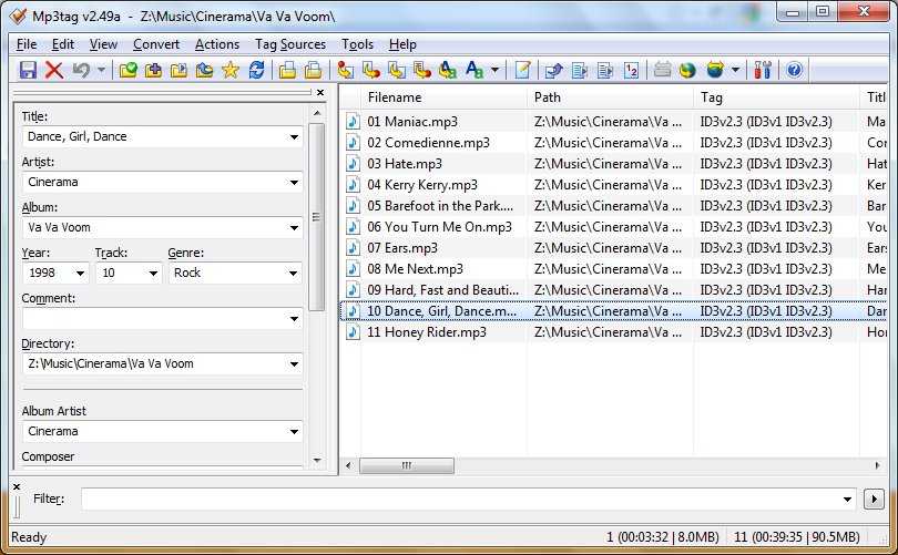 Mp3tag v2 97 free download - Downloads - freeware, shareware