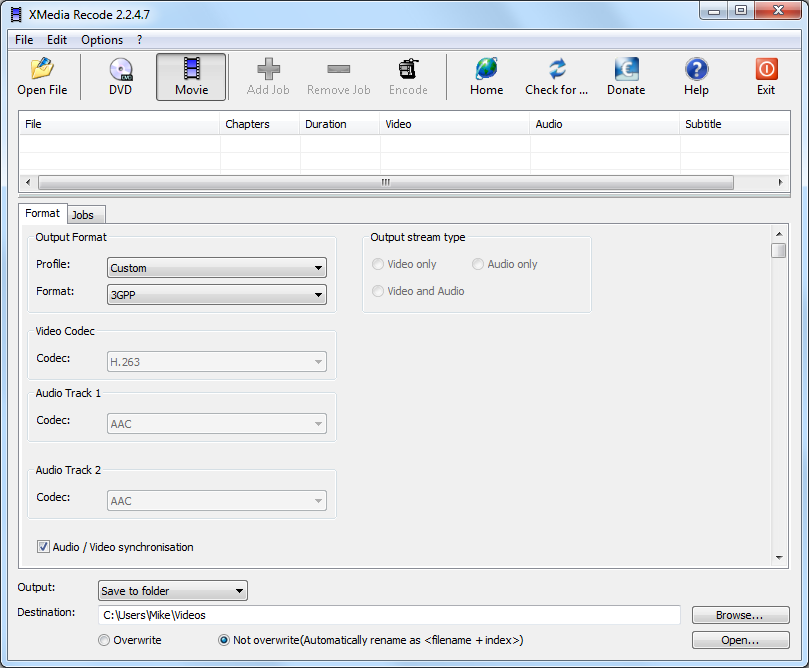 XMedia Recode Portable 3 4 7 8 free download - Software