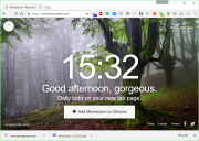 Momentum for Chrome