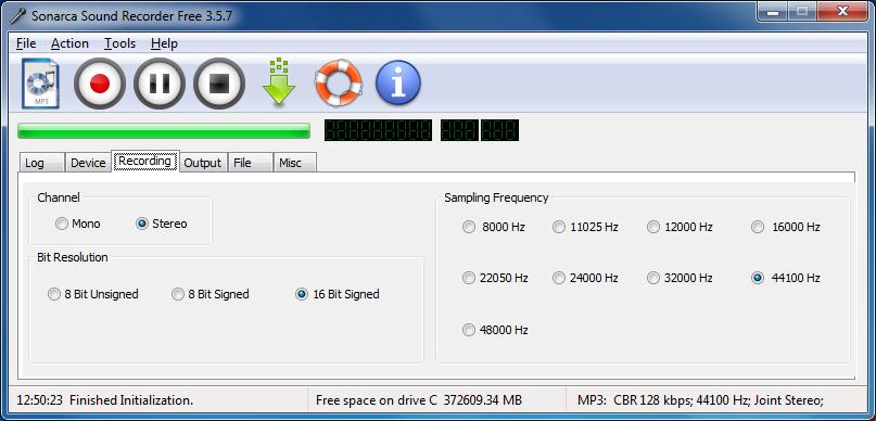 Sonarca Sound Recorder Free 5 0 0 free download - Software