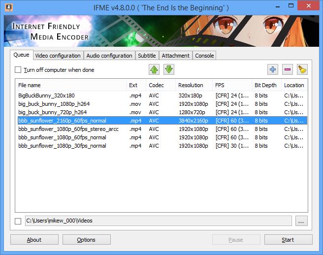 Internet Friendly Media Encoder 6 1 0 0 free download