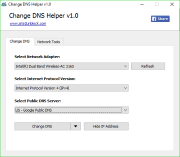 Change DNS Helper