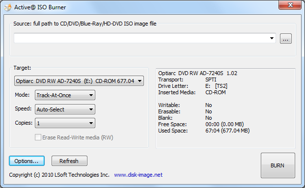 Active@ ISO Burner 4 0 3 free download - Software reviews