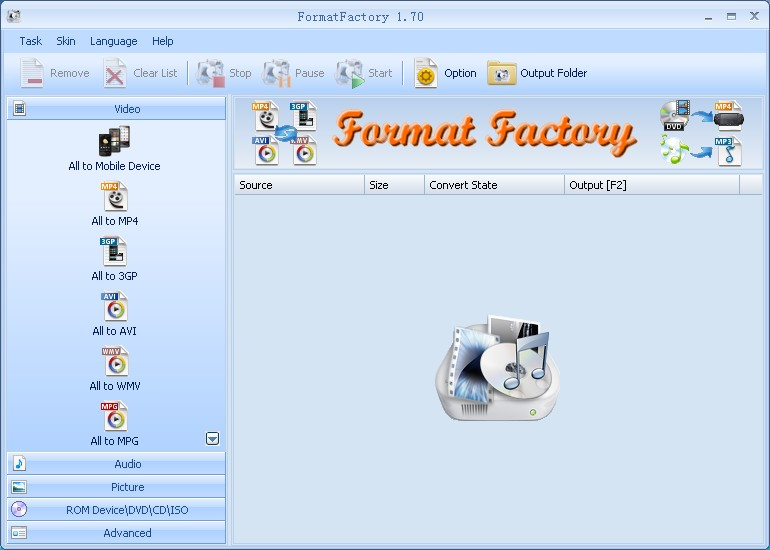 Format Factory 4 7 0 0 free download - Software reviews