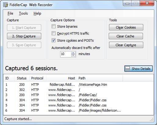 FiddlerCap 2 6 2 3 free download - Software reviews