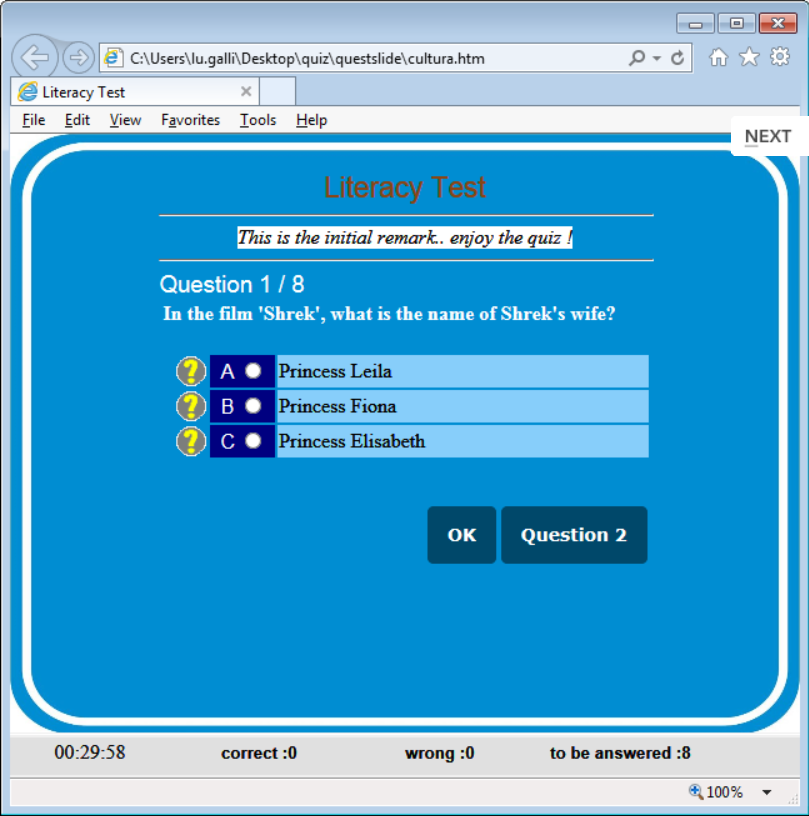 Free Download And Software Reviews: QuizFaber 3.1.2 Free Download
