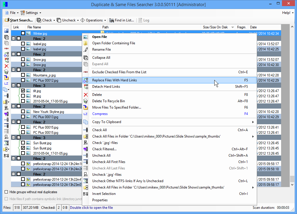 Duplicate & same files searcher 4. 1. 3 free download download the.