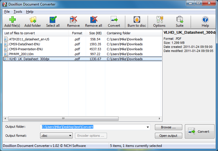 nch converter software free download