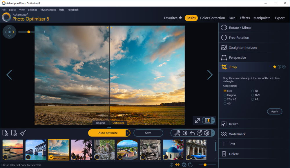 Ashampoo Photo Optimizer 8 0 1 19 Free Download Software Reviews Downloads News Free Trials Freeware And Full Commercial Software Downloadcrew