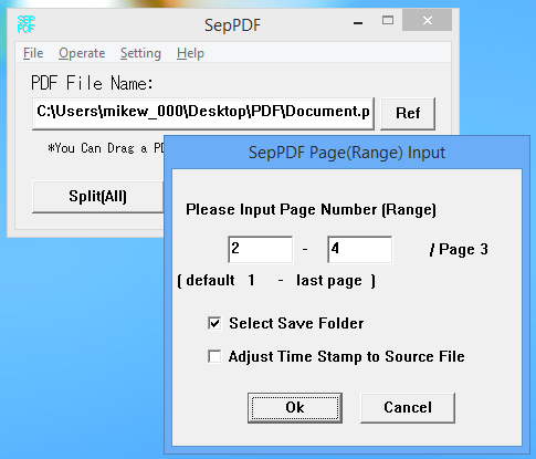 extract pages from pdf file freeware