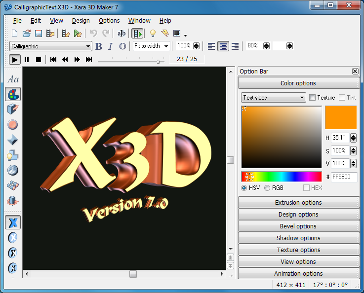 Pc pro software store xara 3d maker 7 10 off rrp 3d creator free
