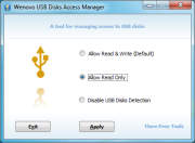 USB Disks Access Manager 1.0