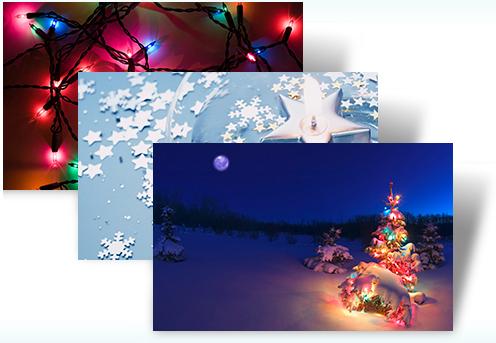 Microsoft holiday lights theme pack free download software reviews holiday lights theme is a free desktop theme for windows 7 users m4hsunfo