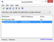 QuickSetDNS 1.02