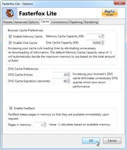 Fasterfox Lite 3.9.1 for Firefox
