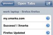 Xmarks for iPhone