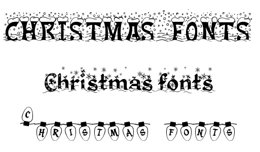 brighten up your festive documents with 30 christmas fonts - Christmas Fonts Free