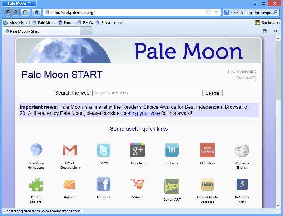 Pale Moon 26.2.1 + Portable