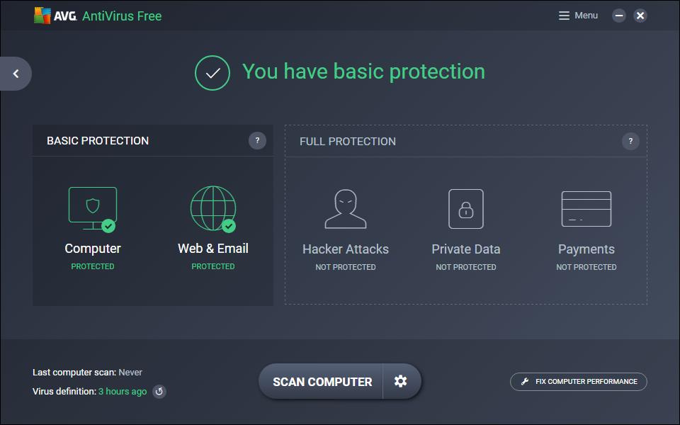 bästa antivirus program 2019 gratis