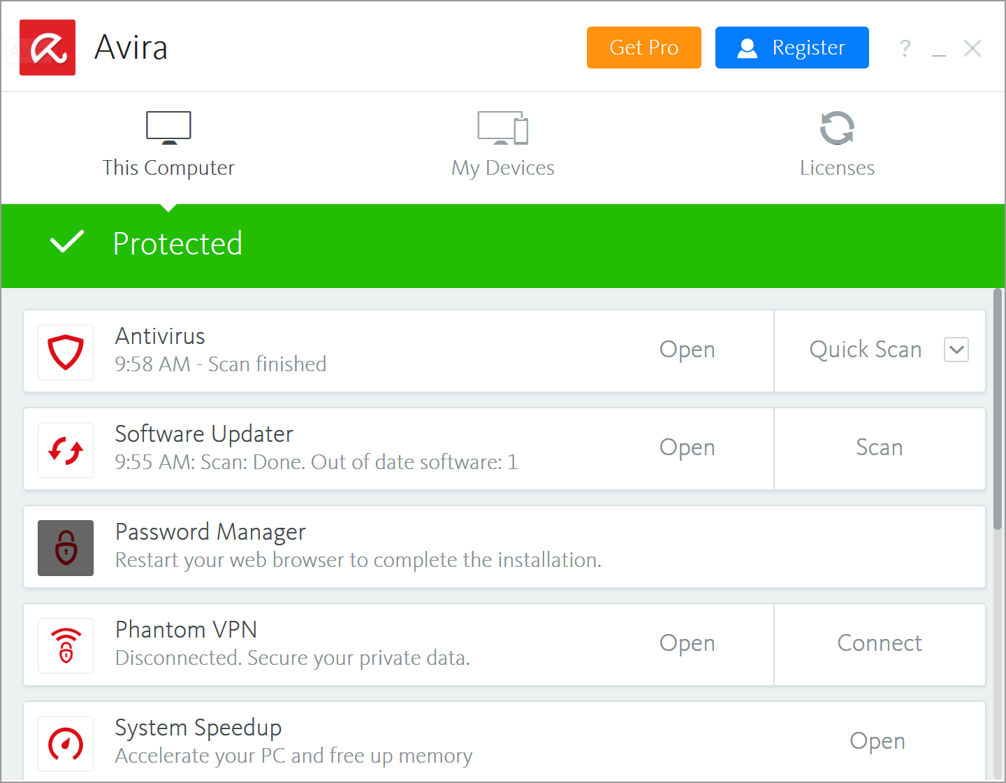 avira internet security review