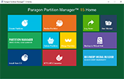Paragon Partition Manager 15 Home