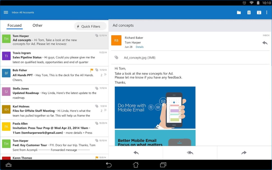 Microsoft Outlook for iOS 4 0 0 free download - Software