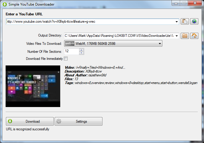 VSVideoDownloaderLite 0 8 1 821 free download - Software