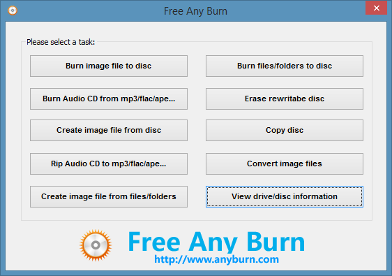 AnyBurn 4 5 free download - Software reviews, downloads, news, free