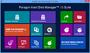 Paragon Hard Disk Manager 15 Suite (64-bit)
