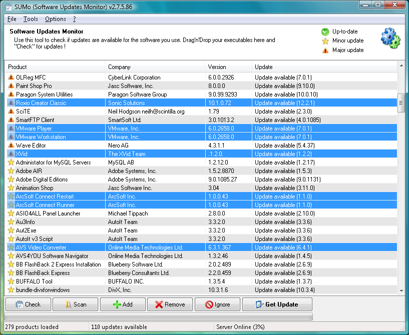 blueberry software free download