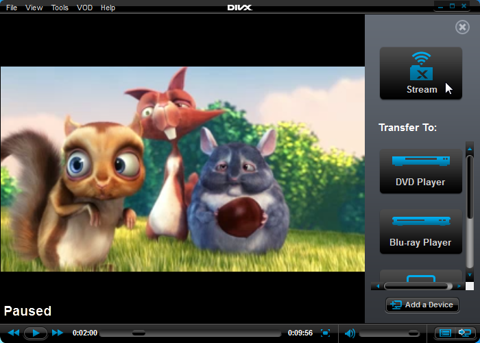 Dlna definition divx video software.