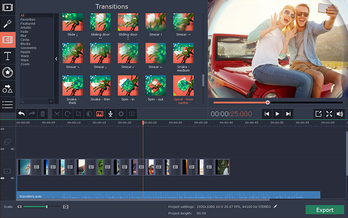 Movavi Video Editor 15 4 free download - Software reviews