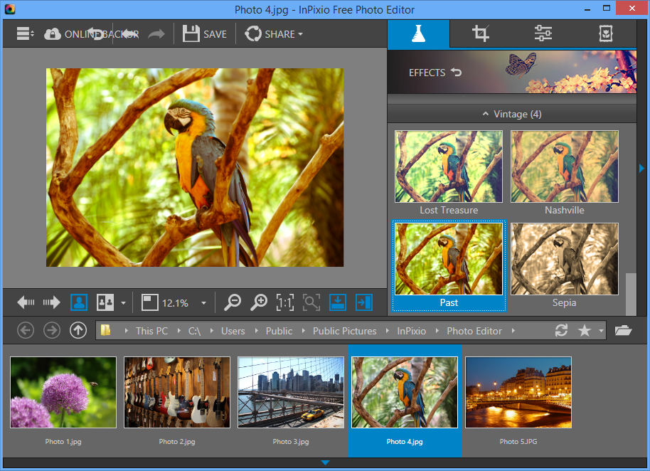 InPixio Photo Editor 1.4 free download - Software reviews ...