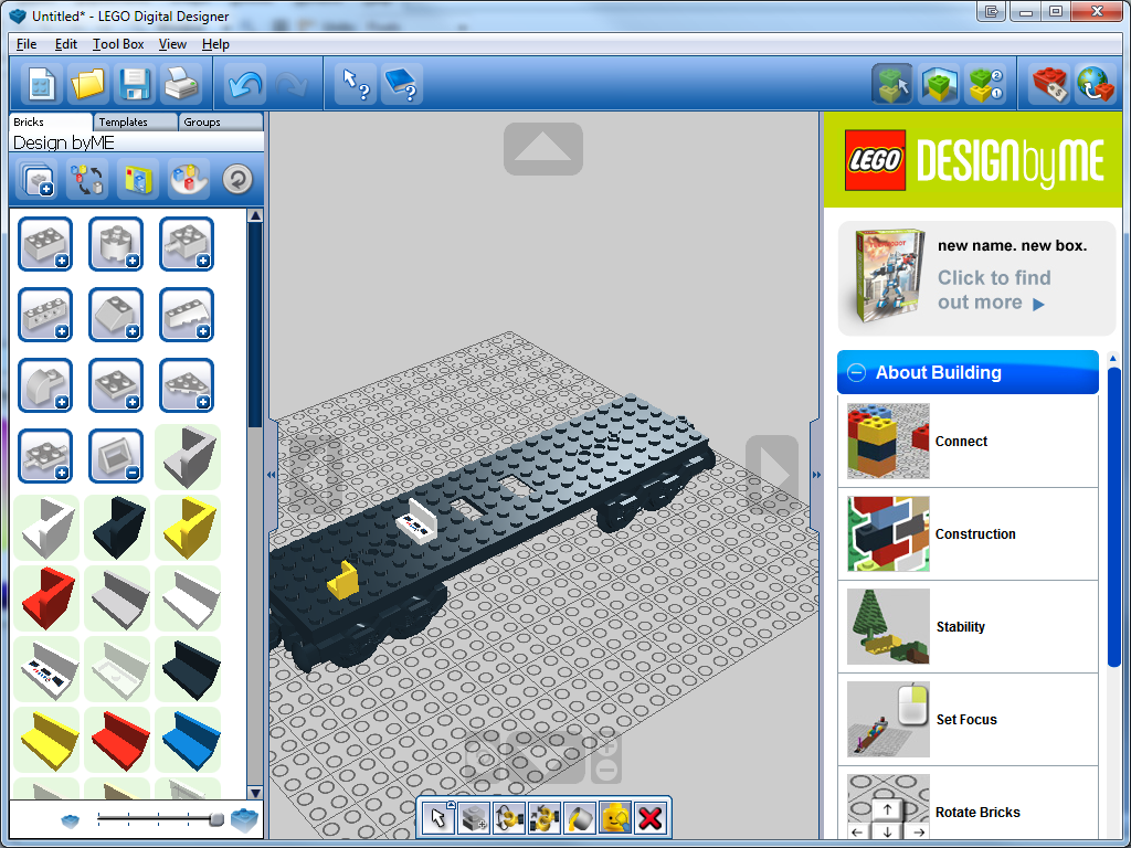 Lego digital designer 4 free download downloads for Lego digital designer templates