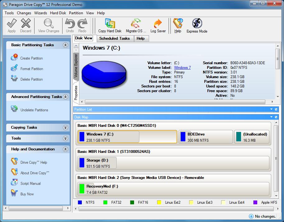 Paragon Drive Copy 12 Professional Free Download