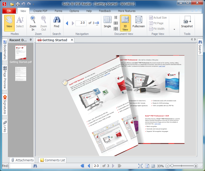 soda 3d pdf reader v8 0 free download software reviews