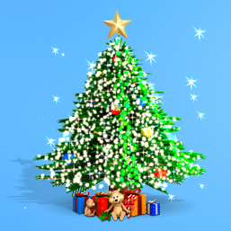 Lovely festival christmas tree wallpapers ~ free hd desktop.
