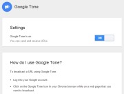 Google Tone for Chrome