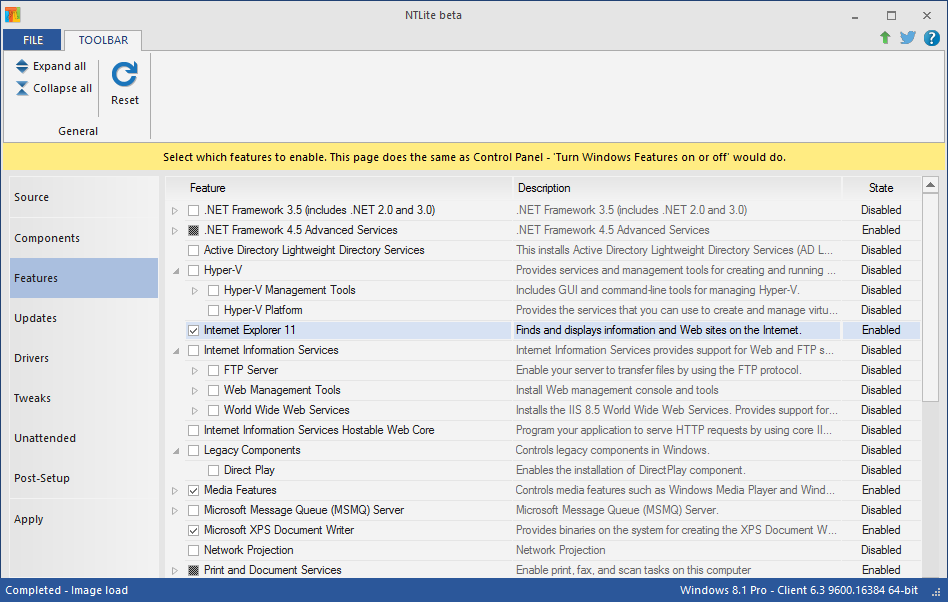NTLite 1.6.3.6240 free download - Software reviews, downloads, news ...