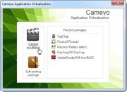 Cameyo main screen