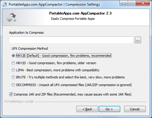 PortableApps AppCompactor 3 4 1 free download - Software