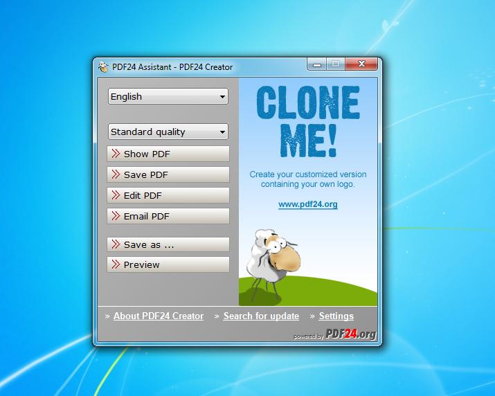 Pdf24 creator 8 4 1 free download software reviews for Free virtual builder