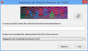 Kaspersky Products Remover