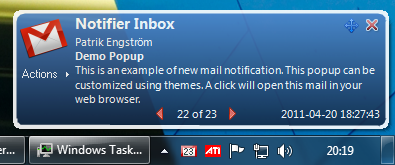 Download gmail notifier pro free pc soft reviews.