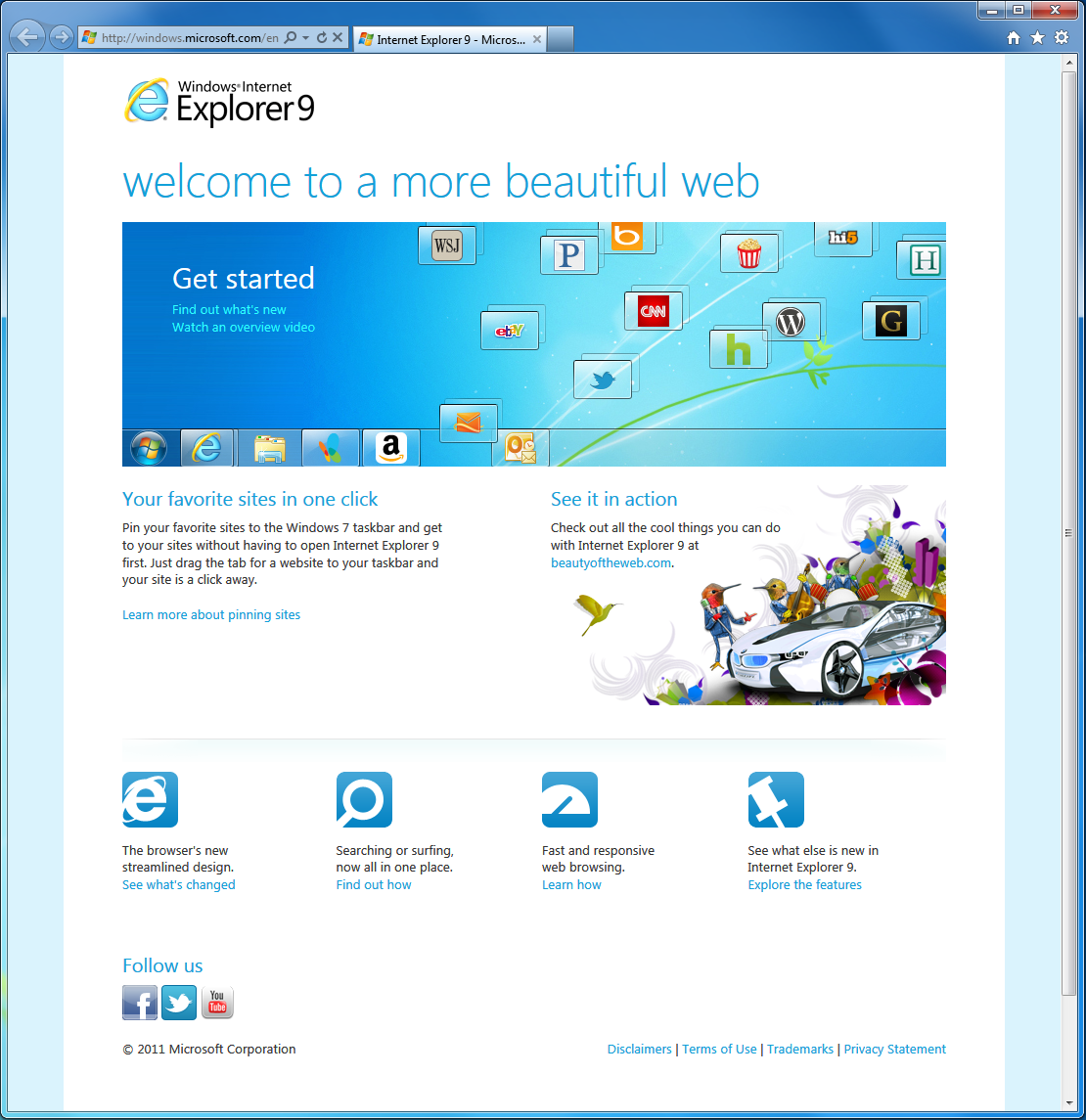 update internet explorer windows 7
